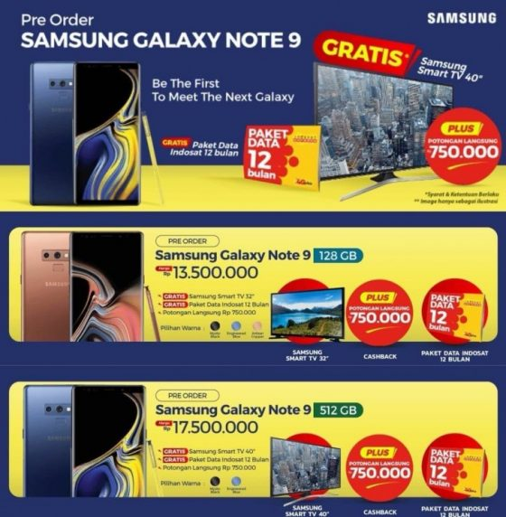 Samsung Galaxy Note 9 cena przedsprzedaż telewizor  kiedy premiera gdzie kupić specyfikacja techniczna