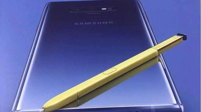Samsung Galaxy Note 9 cena S Pen nowe funkcje plakat specyfikacja techniczna kiedy premiera