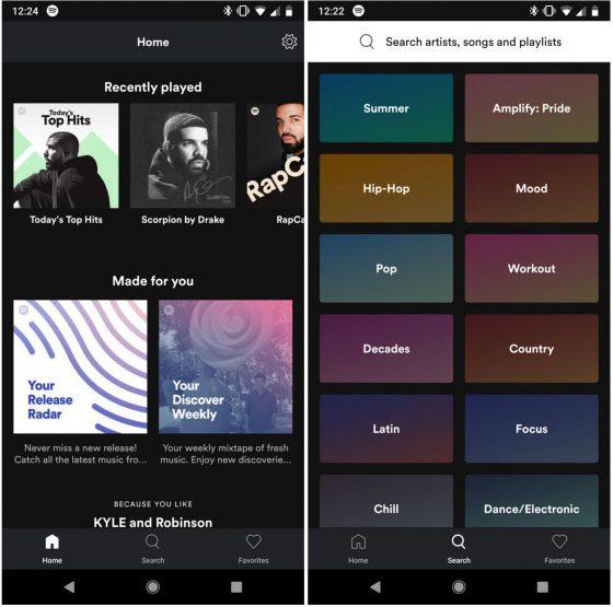 Spotify Lite beta APK aplikacja na smartfony opinie