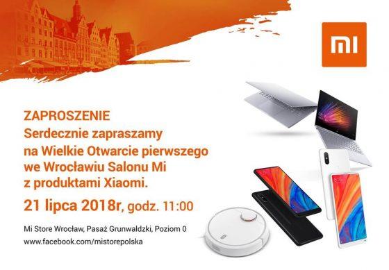 Xiaomi Mi Store Wrocław gdzie Pasaż Grunwaldzki kiedy otwarcie