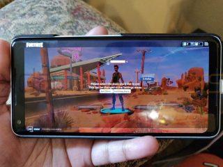 Firtnite Mobile na Androida gameplay Samsung Galaxy note 9 kiedy premiera