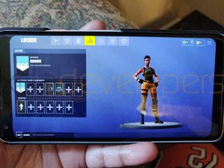 Firtnite Mobile na Androida gameplay Samsung Galaxy note 9 kiedy premiera