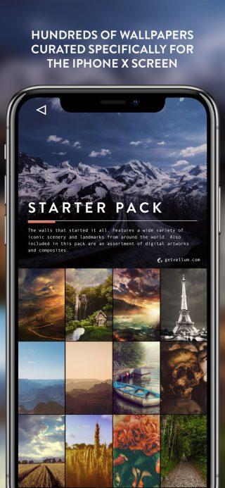 Vellum Wallpapers najlepsze aplikacje iOS lipiec 2018