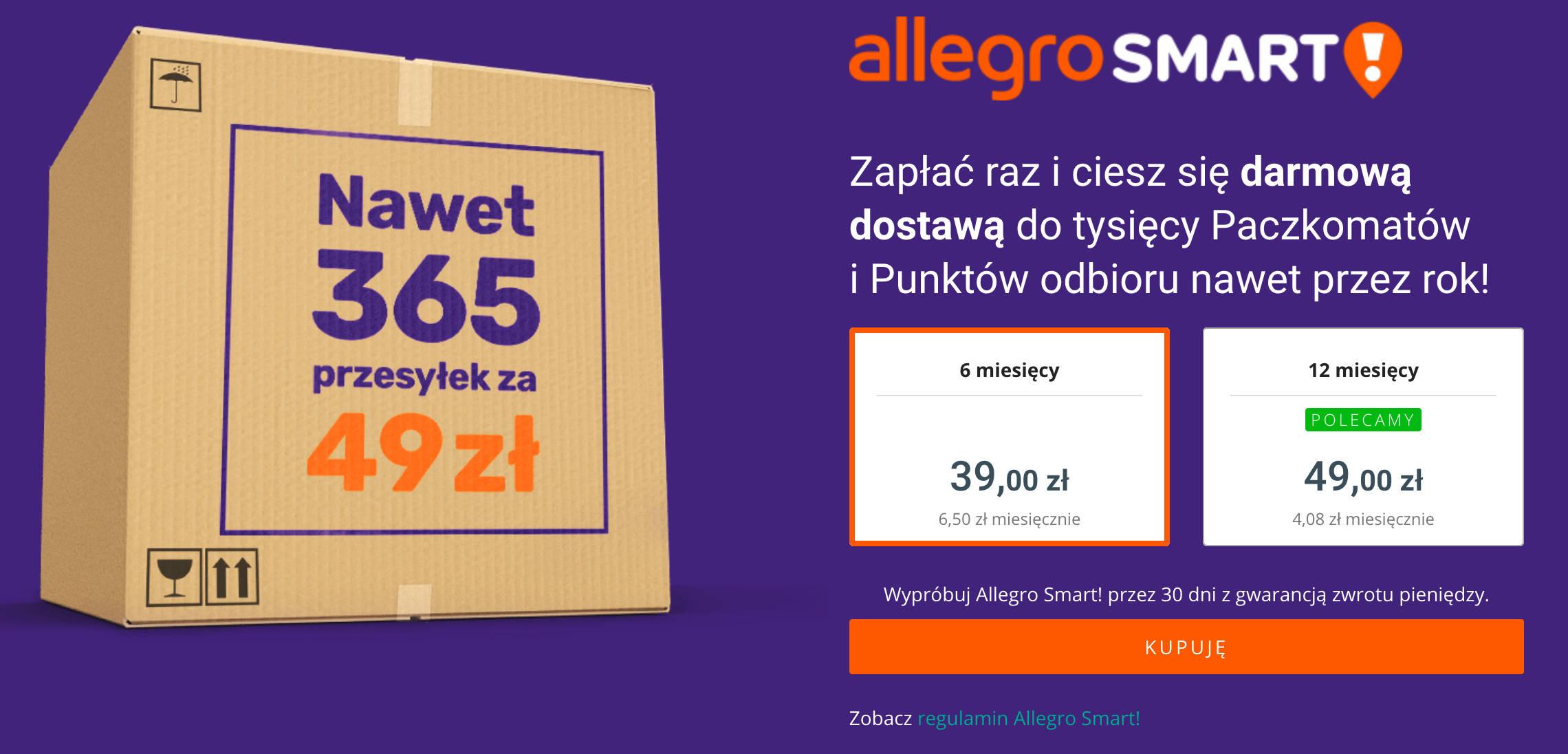 Allegro Smart Cena Planu Wzrosnie Wkrotce Ruszy Allegro Biznes
