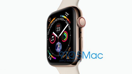 Apple iPhone Xs Plus złoty kiedy premiera specyfikacja techniczna iPhone 2018 cena iPhone X Plus iPhone 9 Apple Watch series 4 rendery Apple Watch 4 2018