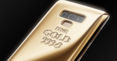 Samsung Galaxy Note 9 Fine Gold Edition