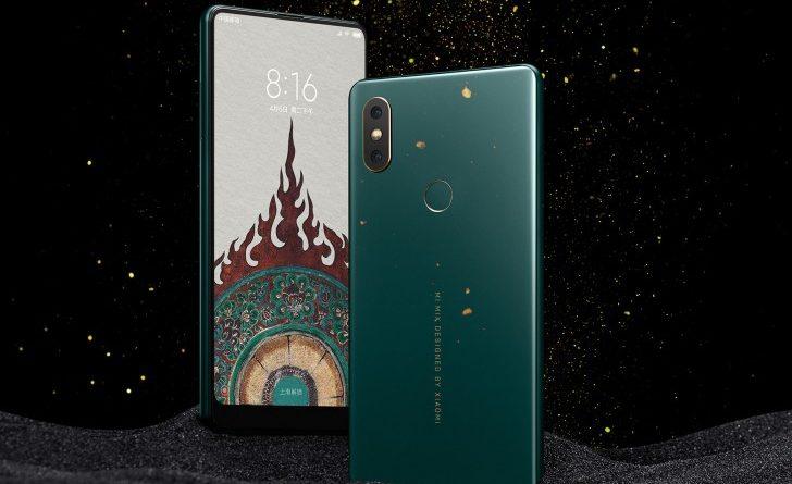 Xiaomi Mi Mix 2S Emerald Green Edition cena gdzie kupić specyfikacja techniczna