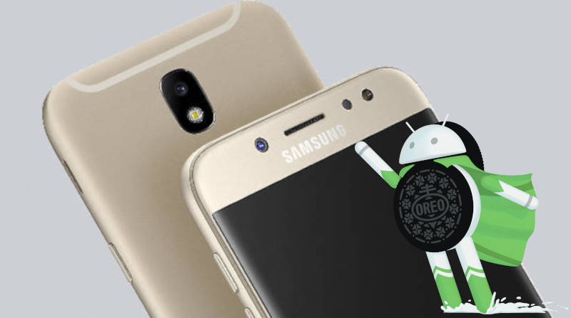 Samsung Galaxy J5 (2017) aktualizacja Android 8.1 Oreo