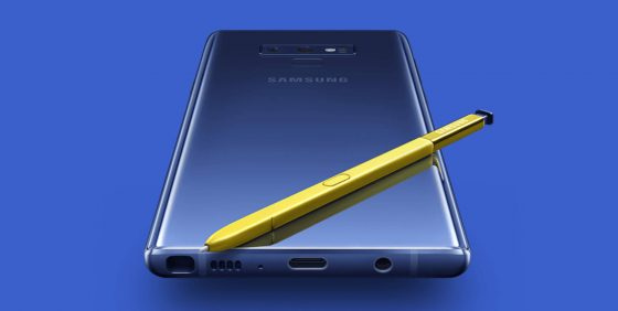 Samsung Galaxy Note 9 benchmarks performance iPhone X Apple A11 Bionic smartphones test