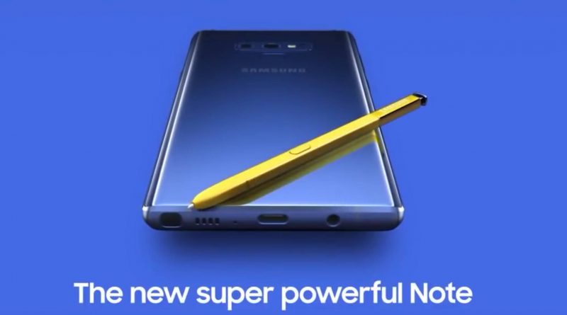 Samsung Galaxy Note 9 wyciek cena wideo kiedy premiera Unpacked specyfikacja techniczna dane techniczne S Pen
