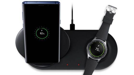 Samsung Wireless Charger Duo EP-N6100 cena ładowarka bezprzewodowa dla Galaxy Note 9 iPhone 2018 Galaxy S10 szybkie ładowanie