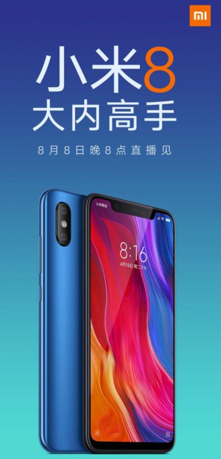 Xiaomi Mi 8 8 GB RAM cena gdzie kupić kiedy premiera w Polsce specyfikacja techniczna
