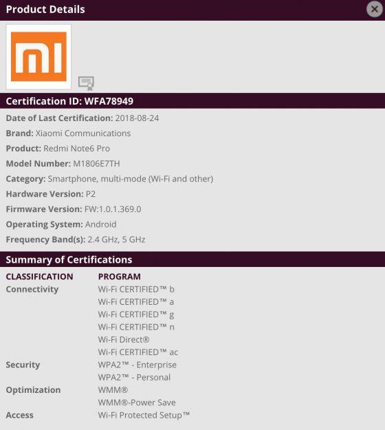 Xiaomi Redmi Note 6 Pro cena specyfikacja techniczna kiedy premiera gdzie kupić w Polsce