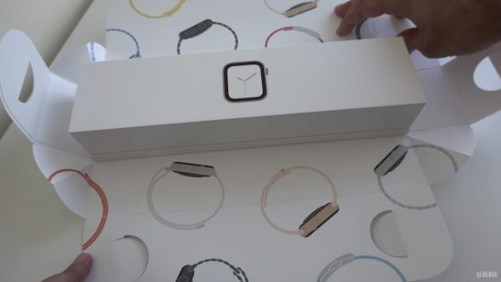 Apple Watch 4 opakowanie unboxing Apple Watch series 4