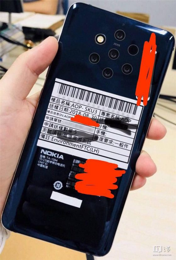 Nokia 9 photo technical specification when the premiere of ZEISS