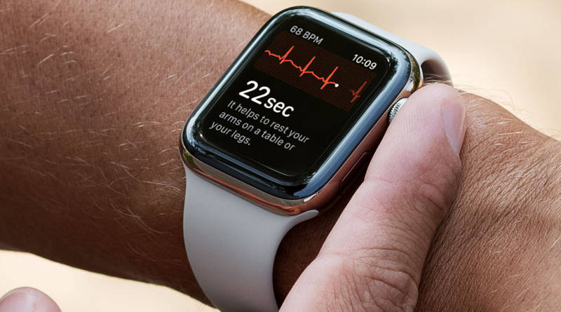 Apple Watch series 4 EKG elektrokardiogram nie w Polsce test recenzja opinie Apple Watch 4 Xiaomi Mi Band 4