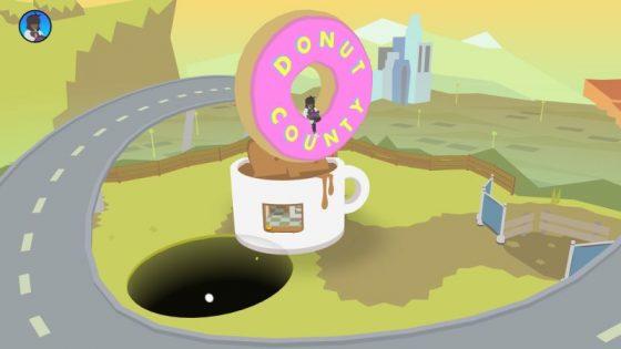 donut county najlepsze gry mobilne sierpień 2018 ios android