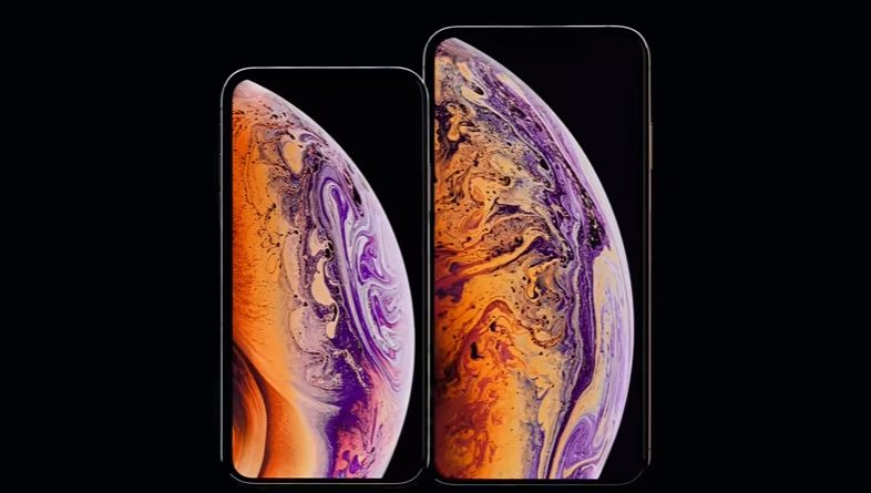 iphone xs max apple wideo