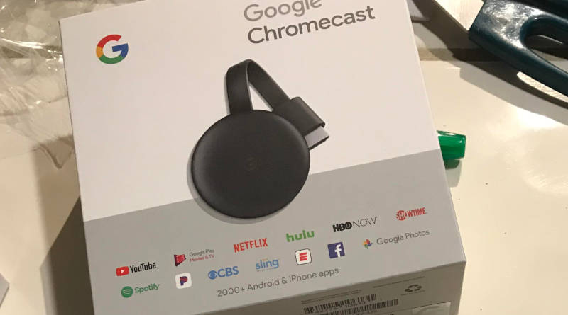 Nowy Chromecast 3. generacji gdzie kupić przeciek Google