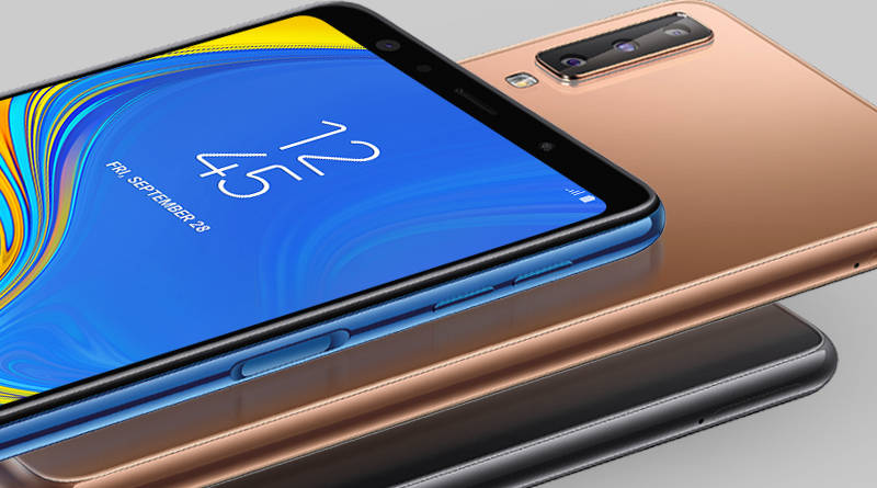 Samsung Galaxy A7 2018 cena w Polsce gdzie kupić najtaniej opinie smartfon z potrójnym aparatem
