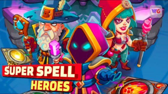 super spell heroes najlepsze gry mobilne sierpień 2018 ios android