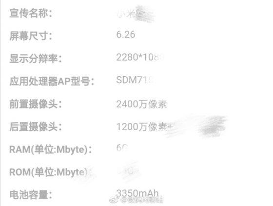 Xiaomi Mi 8 Youth specyfikacja techniczna kiedy premiera gdzie kupić w Polsce cena