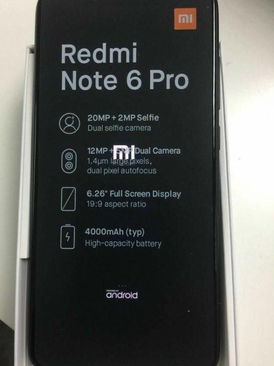 Xiaomi Redmi Note 6 Pro specyfikacja techniczna kiedy premiera gdzie kupić w Polsce