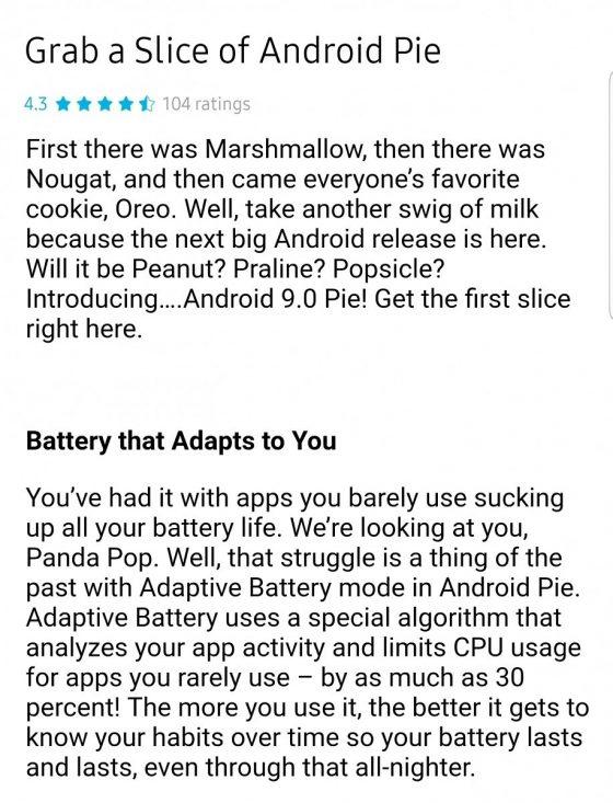 Samsung Experience 10.0 Android 9 Pie dla Galaxy S9 kiedy premiera nowości wykaz zmian co nowego