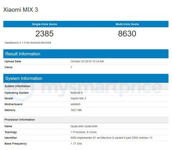 Xiaomi Mi Mix 3 Forbidden city cena specyfikacja techniczna kiedy premiera opinie gdzie kupić najtaniej w Polsce