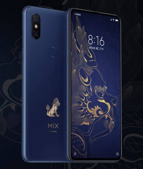Xiaomi Mi Mix 3 Palace Museum Edition – what is worth knowing about this smartphone version?