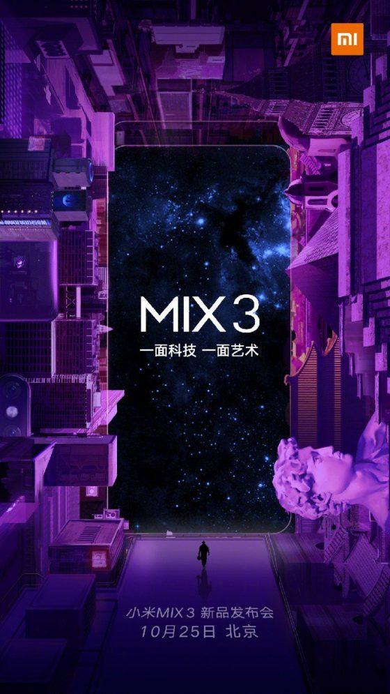 Xiaomi Mi Mix 3 cena data premiery kiedy premiera specyfikacja techniczna gdzie kupić najtaniej
