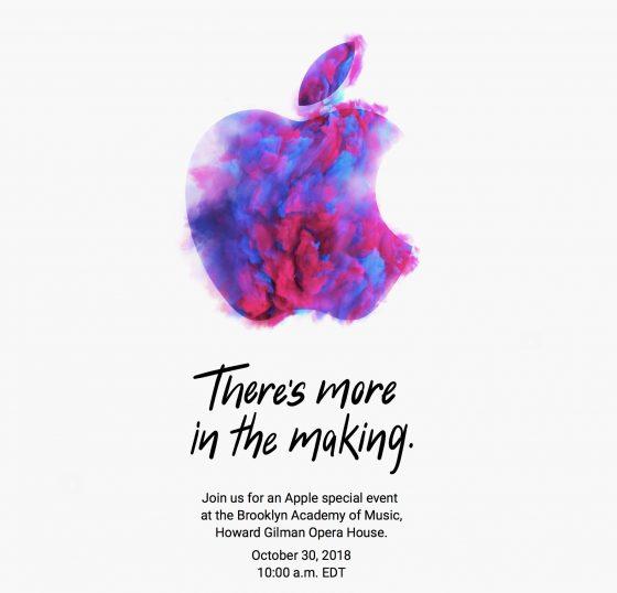 Kiedy październikowa konferencja Apple AirPods 2 nowy MacBook Air Mac mini iPad Pro 2018