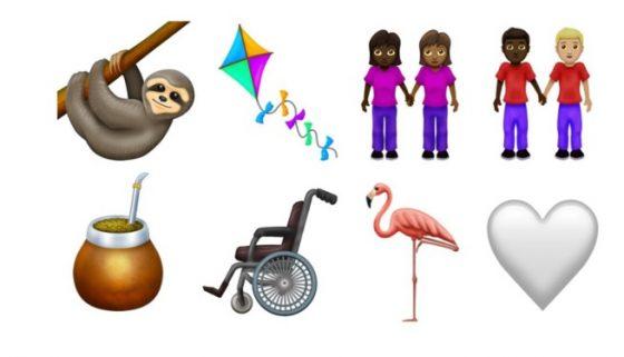 nowe emoji 12 unicode ios 13 android q