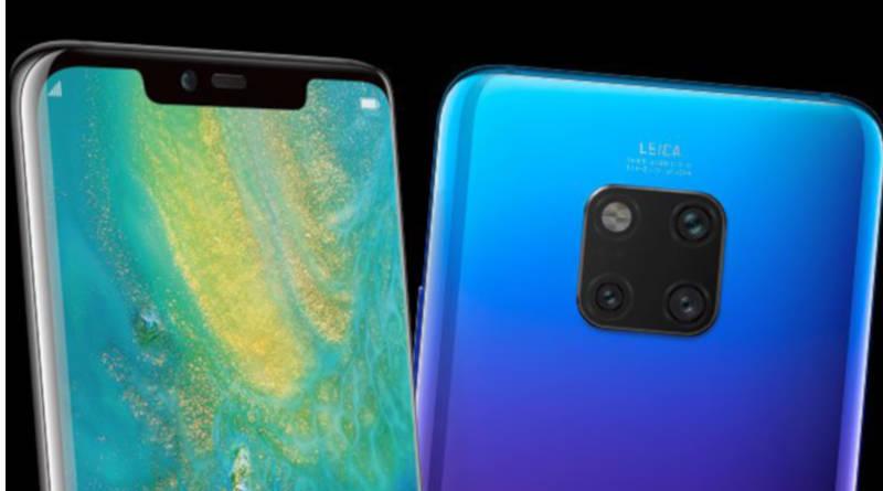 Huawei Mate 20 Pro render Evleaks smartfony specyfikacja techniczna gdzie kupić w Polsce cena kiedy premiera