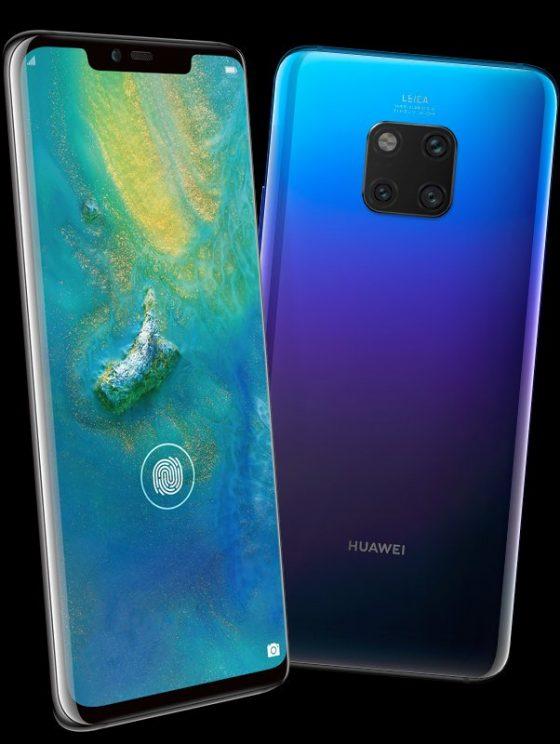 Huawei Mate 20 Pro cena w Polsce render Evleaks smartfony specyfikacja techniczna gdzie kupić w Polsce cena kiedy premiera