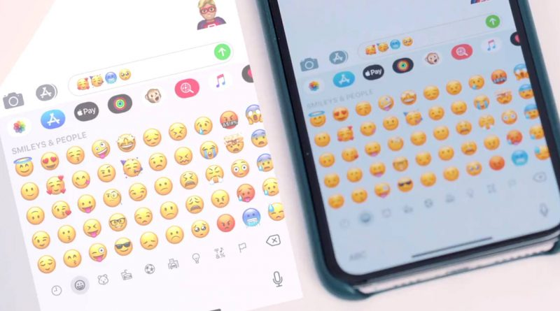 iOS 12.1 beta nowe emoji