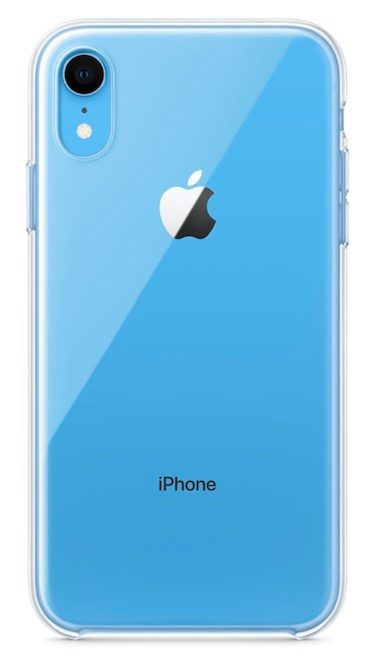 iPhone Xr nowe etui Apple clear case