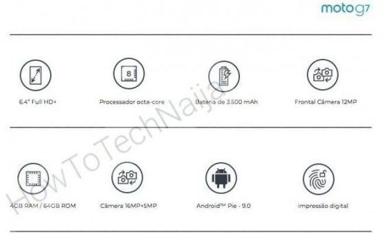 Motorola Moto G7 specyfikacja techniczna kiedy premiera opinie OnePlus 6T Honor 8X
