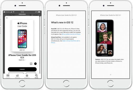 Podręcznik użytkownika iPhone Apple iOS 12.1