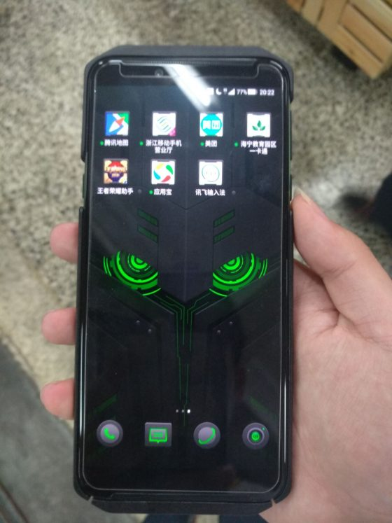 Xiaomi Black Shark 2 pictures price reviews when the premiere technical specification where to buy the cheapest in Poland Xiaomi Black Shark Helo