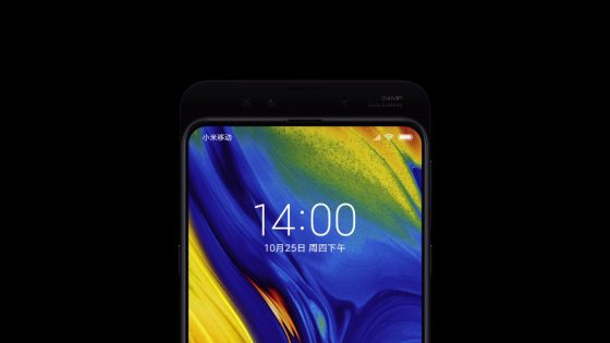 Xiaomi Mi Mix 3 officially. It has a sliding cover and four lenses