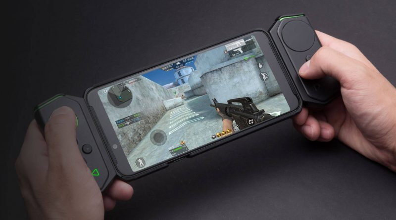 Xiaomi Black Shark Helo on sale. You must wait for editing with 10 GB of RAM