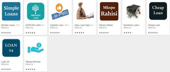 Fałszywe aplikacje z Google Play oferujace szybkie pozyczki