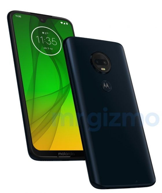 Motorola Moto G7 Plus when the premiere render reviews technical specification