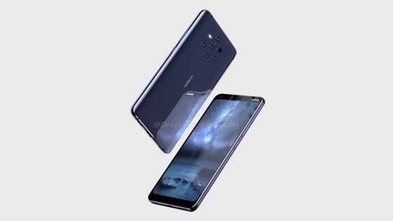 Nokia 9 PureView renders Onleaks when the premiere technical specification reviews HMD Global