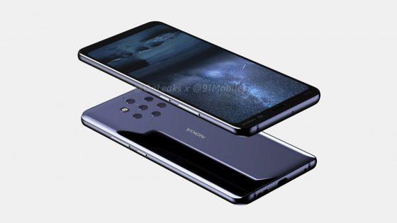Nokia 9 PureView rendery Onleaks kiedy premiera specyfikacja techniczna opinie HMD Global