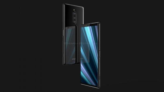 Sony Xperia XZ4 rendery Onleaks kiedy premiera specyfikacja techniczna MWC 2019
