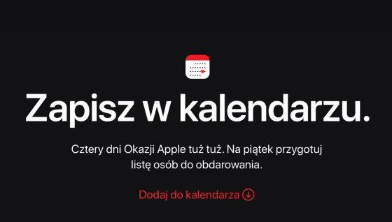 Black Friday Czarny Piątek u Apple kiedy jakie promocje Cyber Monday festiwal zakupów