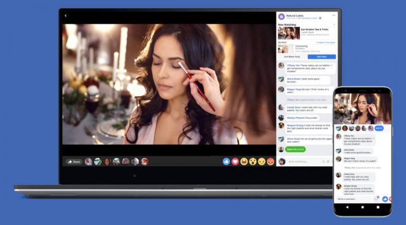 Facebook Messenger Watch Party wspólne oglądanie wideo filmy