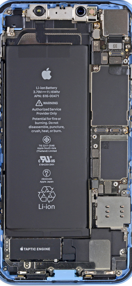 Apple iPhone Xr tapety tła iFixit